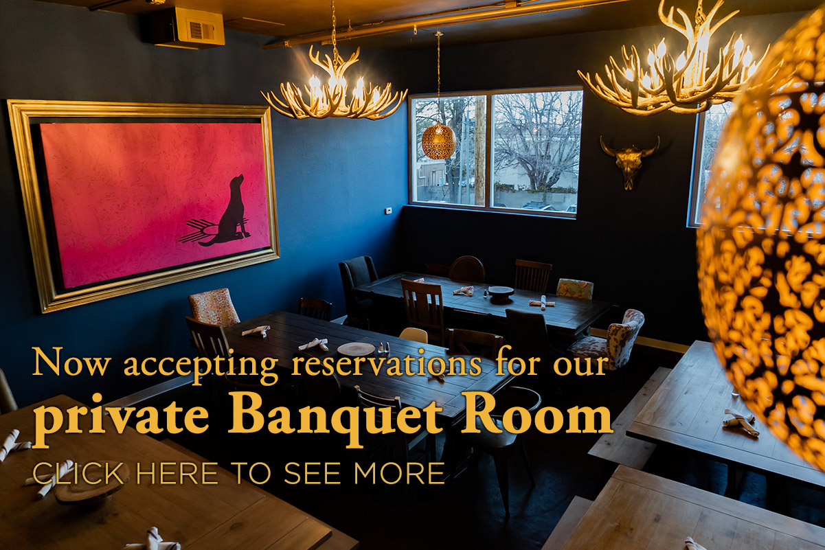 Our new Banquet Room for private events